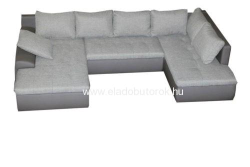 Cecil XXL u-alakú ágyazható, ágyneműs ülőgarnitúra