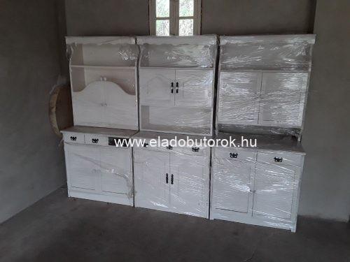 Krém színű fenyő bútor